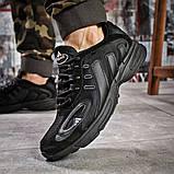 Кроссовки мужские 15911, Adidas Galaxy, черные, [ 41 42 44 ] р. 41-26,2см., фото 4