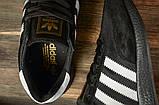 Кроссовки мужские 16863, Adidas Iniki, черные, [ 44 46 ] р. 44-27,6см., фото 5