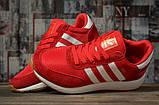 Кроссовки мужские 16864, Adidas Iniki, красные, [ 44 45 ] р. 44-27,6см., фото 3