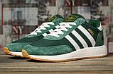 Кроссовки мужские 16868, Adidas Iniki, зеленые, [ 46 ] р. 46-29,0см., фото 2