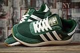 Кроссовки мужские 16868, Adidas Iniki, зеленые, [ 46 ] р. 46-29,0см., фото 3