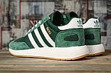 Кроссовки мужские 16868, Adidas Iniki, зеленые, [ 46 ] р. 46-29,0см., фото 4