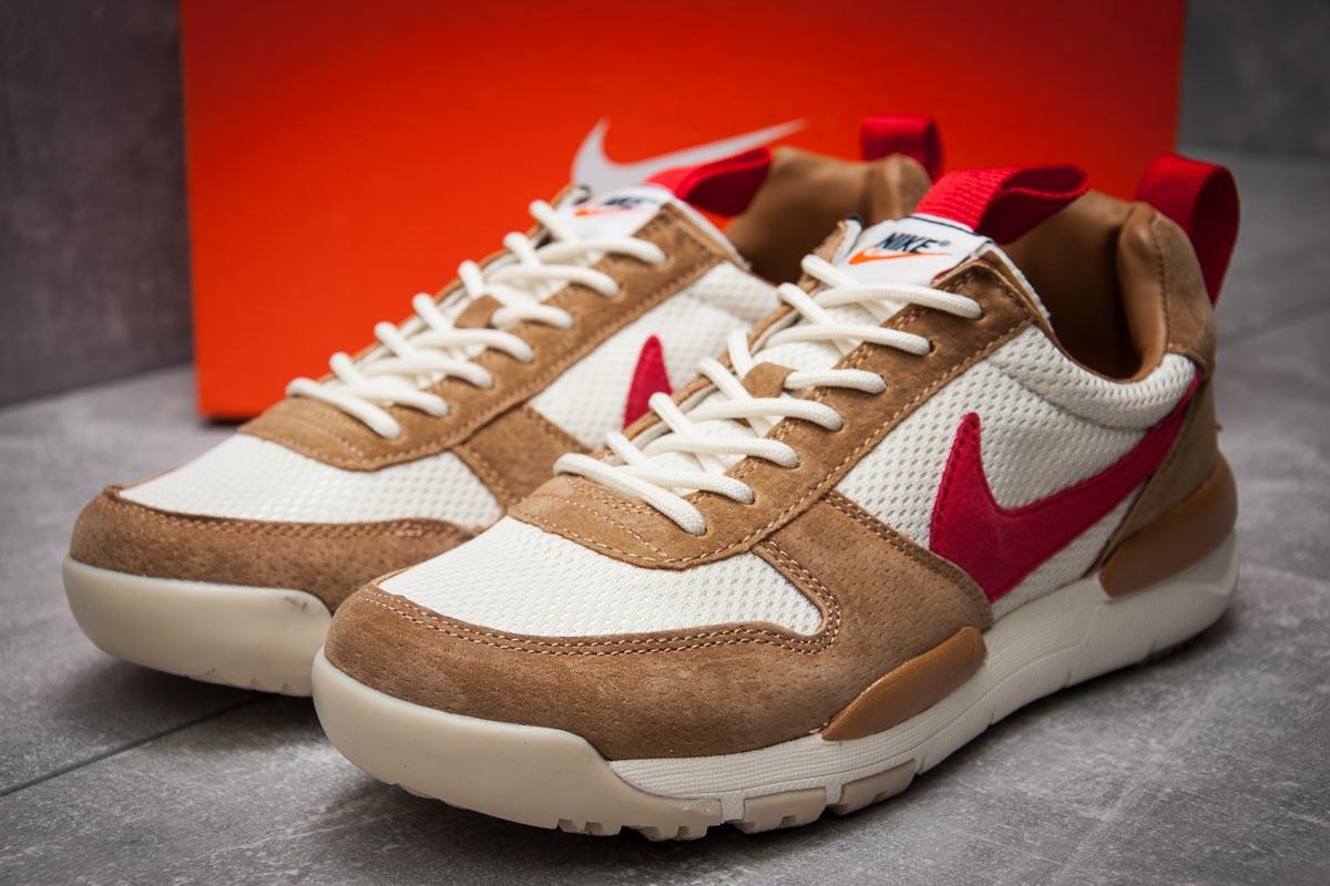 Кроссовки мужские 12584, Nike, коричневые, [ 45 ] р. 45-29,1см.