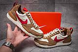 Кроссовки мужские 12584, Nike, коричневые, [ 45 ] р. 45-29,1см., фото 2
