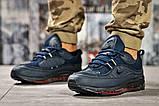 Кроссовки мужские 12672, Nike Aimax Supreme, темно-синие, [ 42 45 46 ] р. 42-26,4см., фото 2
