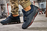 Кроссовки мужские 12672, Nike Aimax Supreme, темно-синие, [ 42 45 46 ] р. 42-26,4см., фото 4