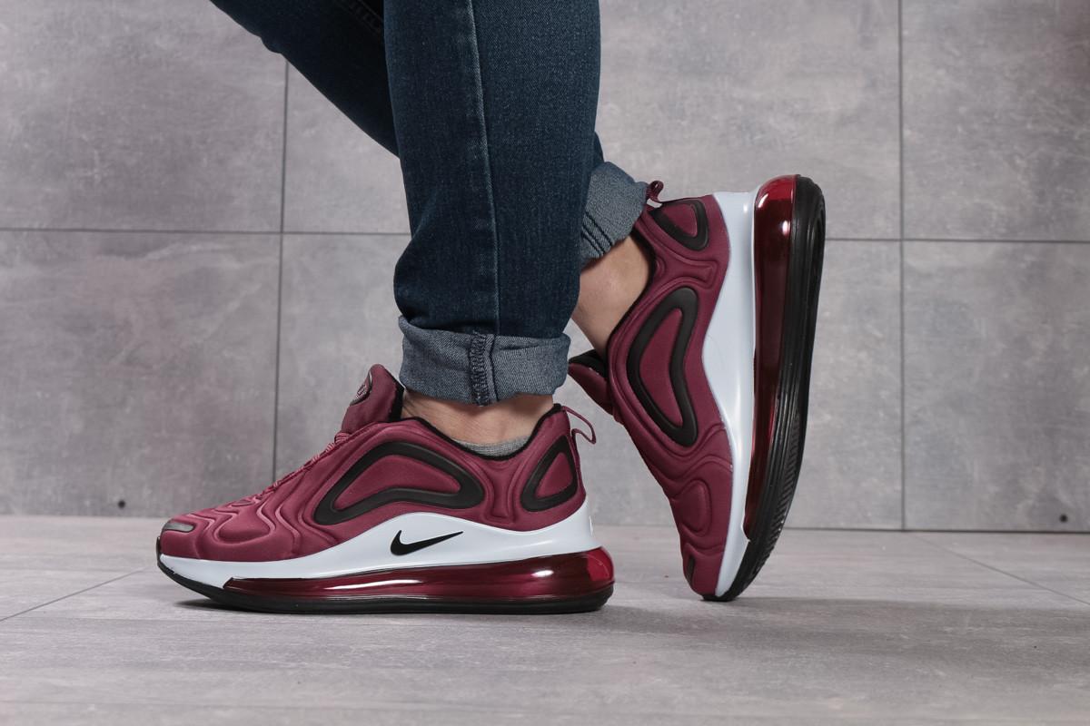 Кроссовки женские 16131, Nike Air 720, бордовые, [ 40 ] р. 40-25,8см.