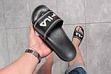 Шлепанцы мужские 16301, Fila, черные, [ 42 43 ] р. 42-27,2см., фото 3