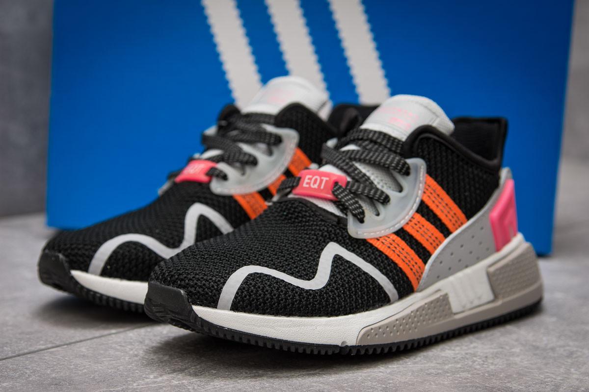 Кроссовки женские 13691, Adidas EQT Cushion ADV, черные, [ 36 37 40 ] р. 36-23,1см.