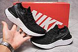 Кроссовки женские 13772, Nike Epic React, черные, [ 36 37,5 ] р. 36-22,5см., фото 2