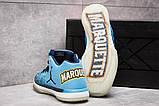 Кроссовки мужские 13923, Jordan Air XXXI Low, голубые, [ 41 ] р. 41-26,5см., фото 4