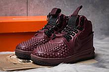 Зимние женские кроссовки 30926, Nike LF1 Duckboot, бордовые, [ 36 ] р. 36-23,0см.