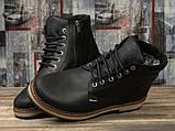 Зимние мужские ботинки 31091, Wrangler New Trendf, черные, [ 40 ] р. 40-26,5см., фото 3