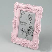 """Рамочка для фото """"Розочки"""" для фото 10х15 см, цвет розовый"""