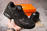Кроссовки мужские 15232, Nike Air Max, черные, [ 41 43 44 ] р. 41-25,7см., фото 2