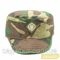 Камуфляж, Кепка военная  (Тризуб)  Brotherhood, цвет Woodland