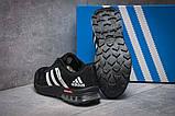 Кроссовки женские 12801, Adidas Galaxy 2017, черные, [ 36 ] р. 36-22,9см., фото 4