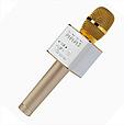 Портативный микрофон-колонка bluetooth Q9, совместим с Android и Apple iOs, имеет USB разъем (3 цвета), фото 2