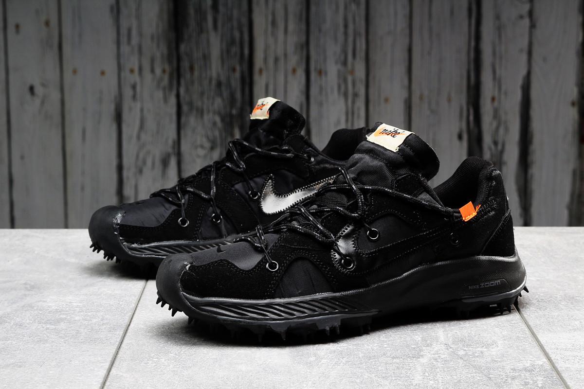 Кроссовки мужские 16723, Nike Air Zoom, черные, [ 42 43 44 45 ] р. 42-26,0см.