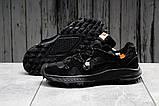 Кроссовки мужские 16723, Nike Air Zoom, черные, [ 42 43 44 45 ] р. 42-26,0см., фото 2