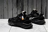 Кроссовки мужские 16723, Nike Air Zoom, черные, [ 42 43 44 45 ] р. 42-26,0см., фото 4
