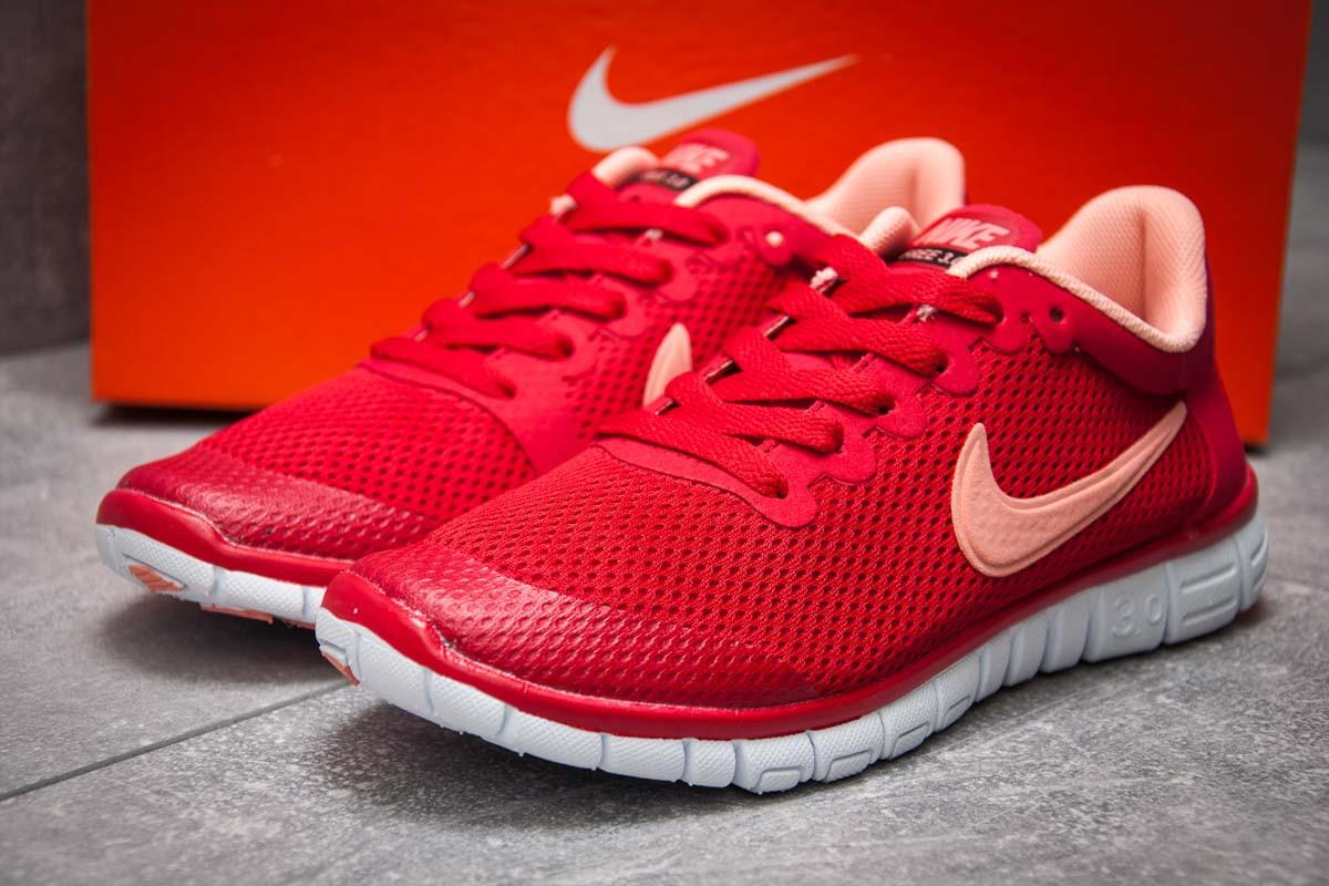 Кроссовки женские 12995, Nike Air Free 3.0, красные, [ 37 ] р. 37-23,1см.