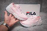 Кроссовки женские 13674, Fila Mino One, розовые, [ 36 ] р. 36-23,0см., фото 2