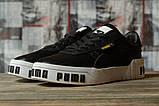 Кроссовки женские 16731, Puma Cali Sport, черные, [ 36 ] р. 36-22,5см., фото 2