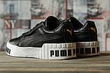 Кроссовки женские 16731, Puma Cali Sport, черные, [ 36 ] р. 36-22,5см., фото 4