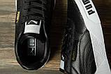 Кроссовки женские 16731, Puma Cali Sport, черные, [ 36 ] р. 36-22,5см., фото 5