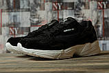 Кроссовки женские 16741, Adidas Falcon, черные, [ 40 ] р. 40-25,5см., фото 2