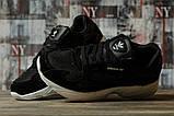 Кроссовки женские 16741, Adidas Falcon, черные, [ 40 ] р. 40-25,5см., фото 3