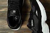 Кроссовки женские 16741, Adidas Falcon, черные, [ 40 ] р. 40-25,5см., фото 5