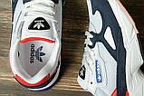Кроссовки женские 16745, Adidas Falcon, серые, [ 36 37 38 39 40 41 ] р. 36-23,0см., фото 5