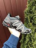 Кроссовки для бега Salomon Speedcross 3, Саломон, серые, фото 2