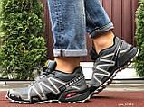 Кроссовки для бега Salomon Speedcross 3, Саломон, серые, фото 5