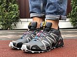 Кроссовки для бега Salomon Speedcross 3, Саломон, серые, фото 6