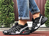 Кроссовки для бега Salomon Speedcross 3, Саломон, черные с серым, фото 6