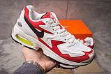 Кроссовки мужские 15231, Nike Air Max, белые, [ 41 43 ] р. 41-25,7см., фото 2