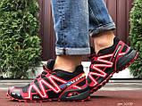 Кросівки чоловічі Salomon,кросівки для бігу,темно сині, фото 3