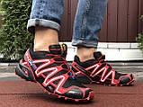Кросівки чоловічі Salomon,кросівки для бігу,темно сині, фото 4