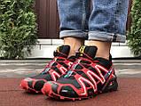 Кросівки чоловічі Salomon,кросівки для бігу,темно сині, фото 6
