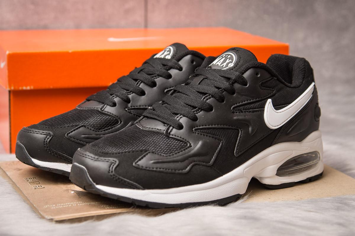Кроссовки мужские 15233, Nike Air Max, черные, [ 42 44 45 ] р. 42-26,5см.