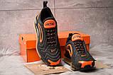 Кроссовки мужские 15254, Nike Air Max, черные, [ 41 44 ] р. 41-26,5см., фото 3
