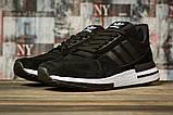 Кроссовки мужские 16841, Adidas, черные, [ 44 45 ] р. 44-28,0см., фото 2