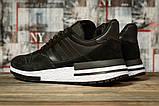 Кроссовки мужские 16841, Adidas, черные, [ 44 45 ] р. 44-28,0см., фото 4