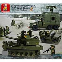 Конструктор 0308 Сухопутные войска (576 деталей)