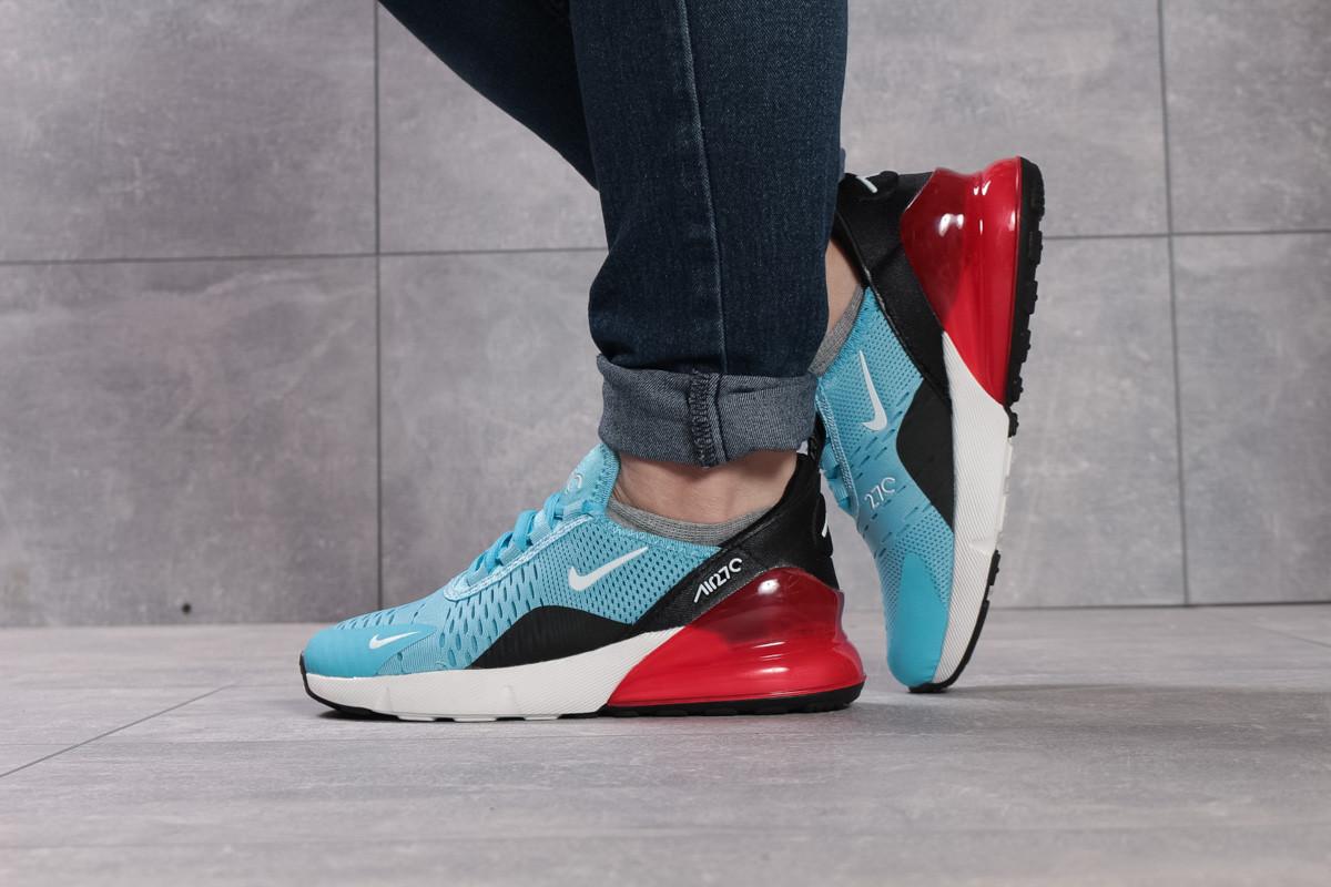 Кроссовки женские 16053, Nike Air 270, голубые, [ 36 37 ] р. 36-23,0см.