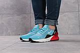 Кроссовки женские 16053, Nike Air 270, голубые, [ 36 37 ] р. 36-23,0см., фото 2