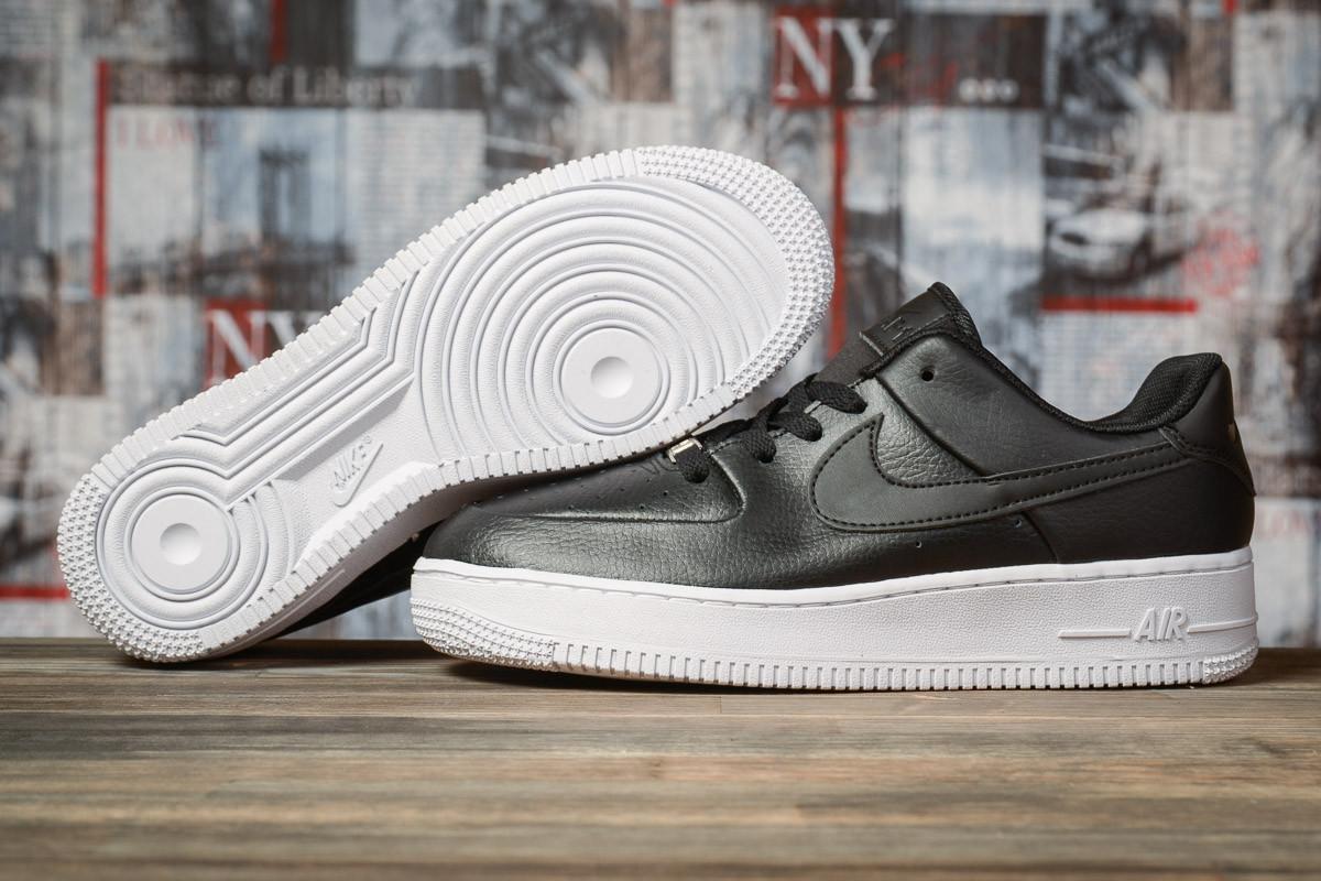 Кроссовки женские 16891, Nike Air  AF-1, черные, [ 38 39 40 41 ] р. 38-24,5см.